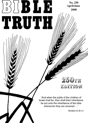 Bible Truth Magazine No. 250 cover