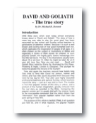 David and Goliath The True Story Article